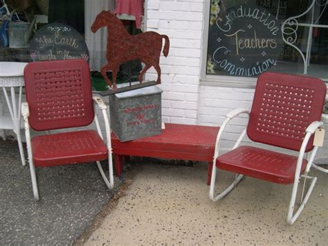Motel Chairs Vintage by Vintage Metal Garden Motel Chairs By Urbancottagegoods On