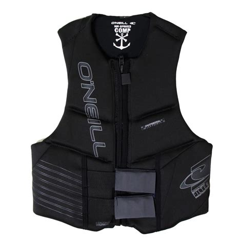 most comfortable life vest o neill outlaw competition life vest men s peter glenn
