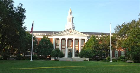 What To Do With A Harvard Mba by Hbs Boston Harvard Business School Massachusetts Usa
