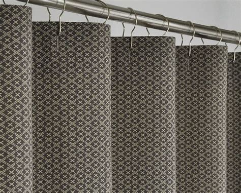 brown linen shower curtain 72 x 78