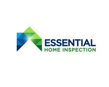 home inspection logo design essential home inspections logo design contest logo