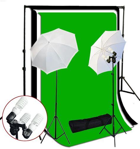 Paket Lighting Studio Max 200 1200 watt 3 bulb holder continuous lighting 10x10 ft photo studio kit tr 01 kaezi photography