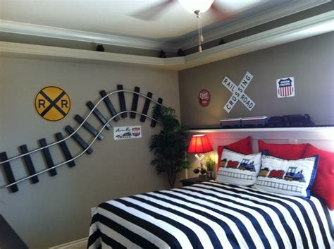 Diy Teenage Bedroom Decor best 25 boys train bedroom ideas on pinterest kids