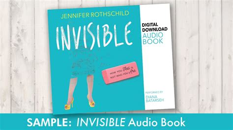 the invisible book report sle of audio book invisible how you feel is not who
