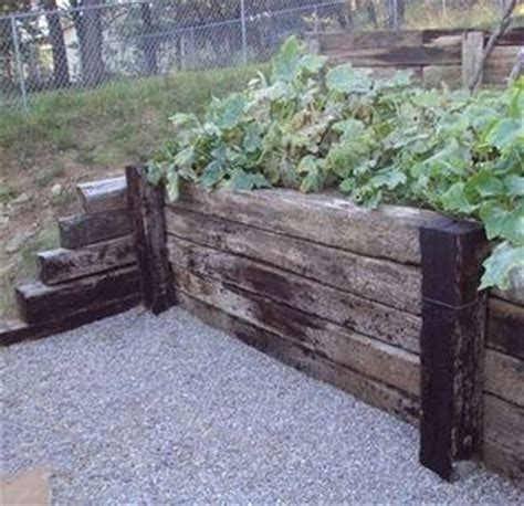 Landscape Timbers For Sale Craigslist Railway Sleepers Retaining Walls And Railroad Tie