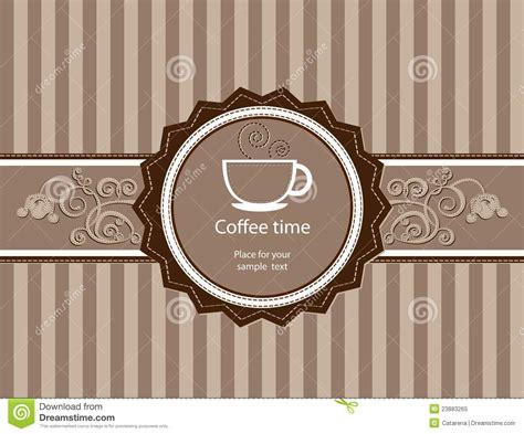 menu for restaurant cafe bar coffeehouse royalty free