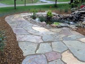 best 25 flag stone ideas on pinterest