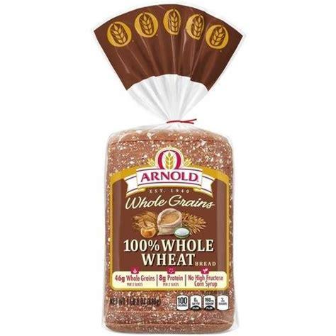 whole wheat 9 grain bread arnold whole grains 100 whole wheat bread 24 oz bakery