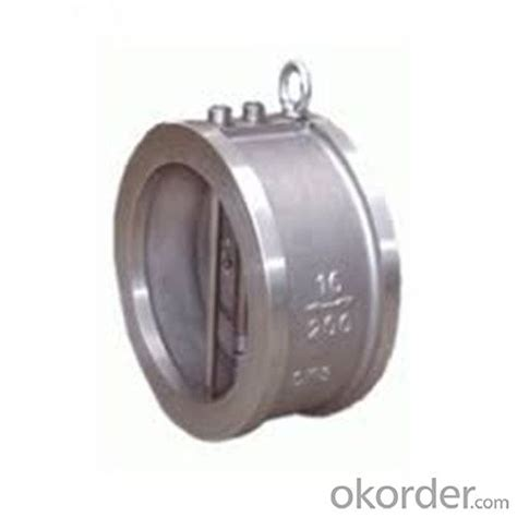 double swing check valve buy swing check valve wafer type double disc dn 200 mm