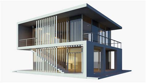 3d house 3d modern house model