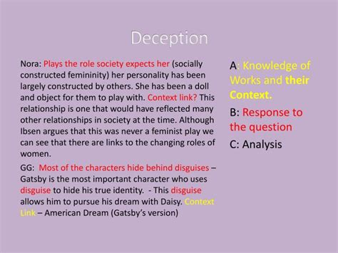 common themes in great gatsby and hamlet ppt common themes in a doll s house and great gatsby