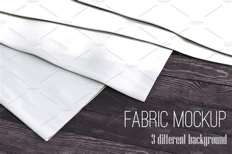 pattern fabric mockup realistic fabric set mock up product mockups creative