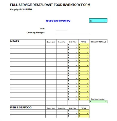 15 Product Inventory Templates Free Sle Exle Format Download Free Premium Templates Product Inventory Template
