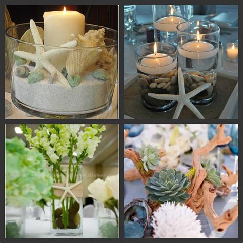 theme table dining room best 25 beach centerpieces ideas only on