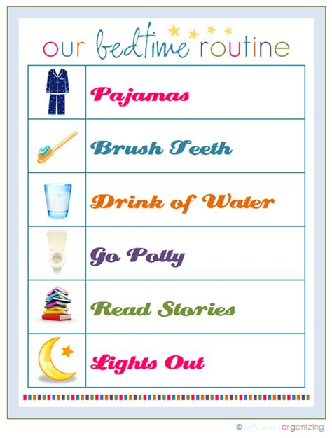 printable toddler bedtime routine chart bedtime routine chart search results calendar 2015