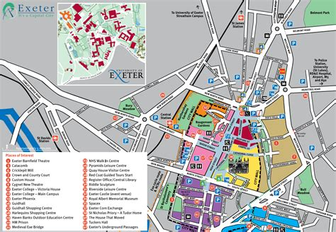 map uk exeter image gallery exeter map
