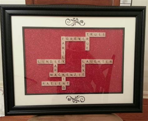 friends with scrabble personalised scrabble photo frame best friend gift