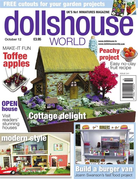 dolls house world magazine dolls house world magazine crafts pinterest