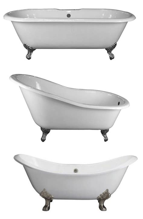 footed bathtub footed in style the clawfoot tub house appeal