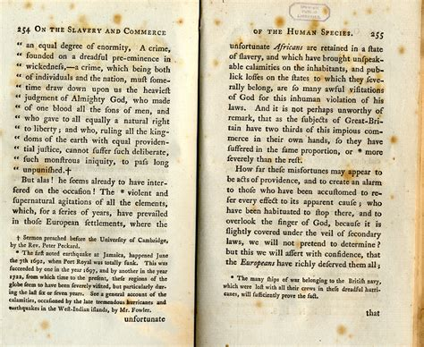 An Essay On by An Essay On The Slavery And Commerce Of The Human Species 1st Edition Copy The Abolition Of