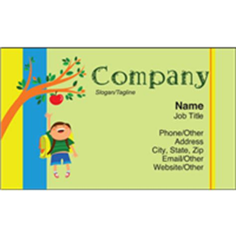 3 5x2 Business Card Template Free by Business Card Templates 3 5x2