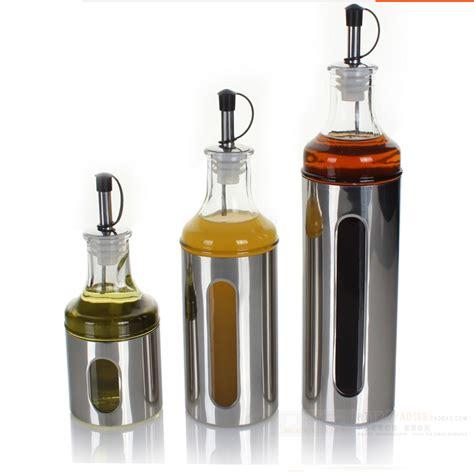 bottles for kitchen kitchen oiler bottle vinegar vinegar sauce pot seasoning box condiment bottles cans boxes