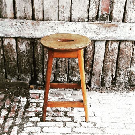 Vintage Wooden Stool by Shop Home Accessories For Sale Vintage Wooden Stool