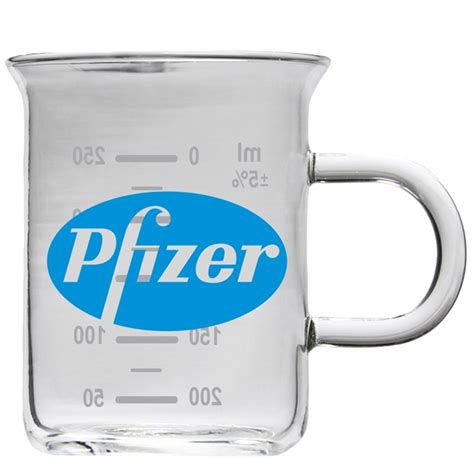 Printed Glass Mug lab glass mugs custom printed promotional items