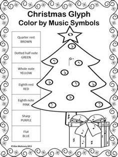 free christmas glyphs for fourth grade 1000 images about worksheets on worksheets elementary and