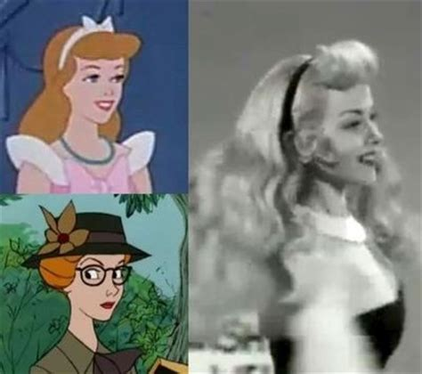 cinderella film aurora helene stanley is the actress who modeled for cinderella