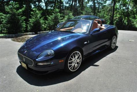 maserati gransport convertible find used maserati gran sport convertible 7117