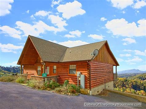 Mountain High Cabin Rentals by Pigeon Forge Cabin Mountain High View From 130 00