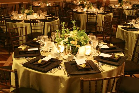 beautiful table settings green and brown bridal party attire archives greatest expectations