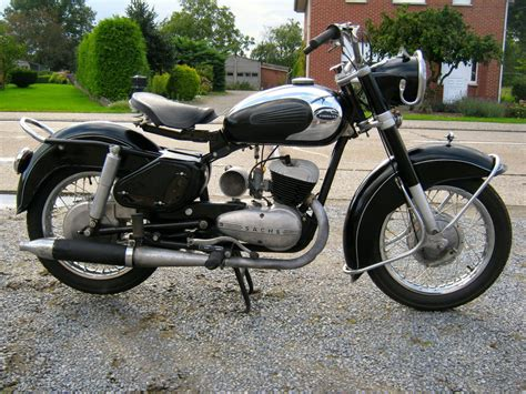 Sachs Motor Two Stroke by 1955 Express W Sachs 175cc Two Stroke Engine Vintage