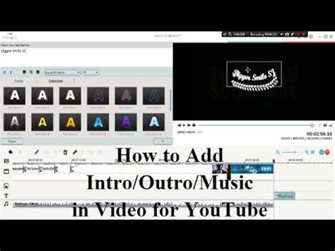 tutorial filmora youtube vote no on how to make a outro no watermark tech tutorials