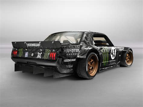 hoonigan truck 845hp 1965 ford mustang awd monster is ken block s car for
