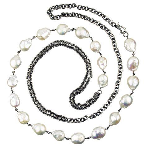 modern pearl necklace jenne rayburn