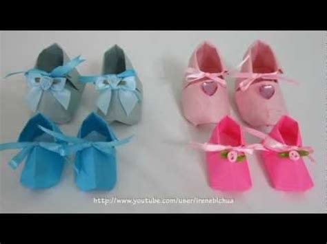Origami Baby Booties - the world s catalog of ideas