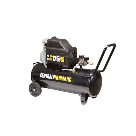 10 psi air compressor 10 gal 2 5 hp 125 psi lube air compressor