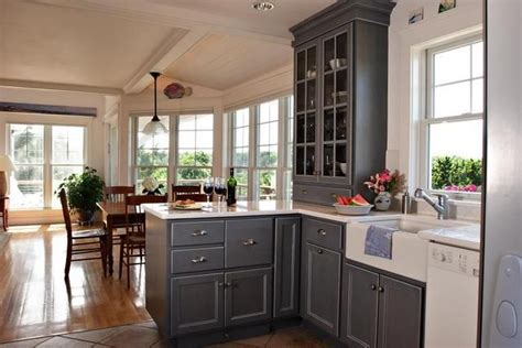 light gray kitchen cabinets with white appliances pin by jennifer neuman on ideas for kitchen pinterest