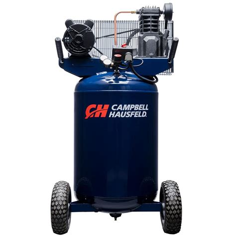 cbell hausfeld 30 gal portable electric 135 psi 5 5 cfm 2hp air compressor vt6358 the home