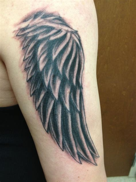 wing tattoo by nathanleesmith on deviantart