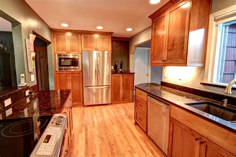 Galley Kitchen Remodels by Kitchen Remodel Kitchen Design Portland Remodeling