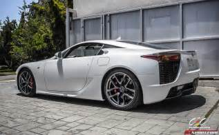 for sale pearl white lexus lfa via cec wheels gtspirit