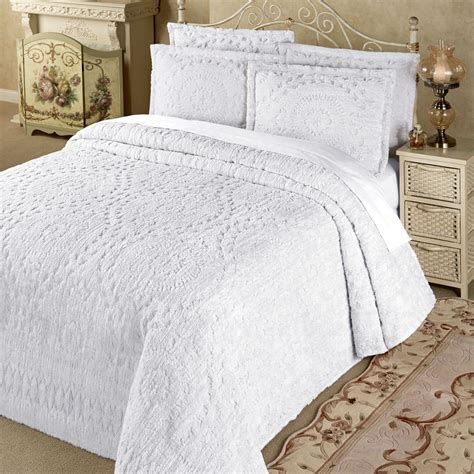 chenille bedding rio lightweight cotton chenille bedspread bedding