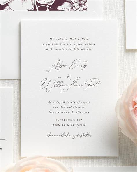 letterpress wedding invitations wales alyssa letterpress wedding invitations letterpress