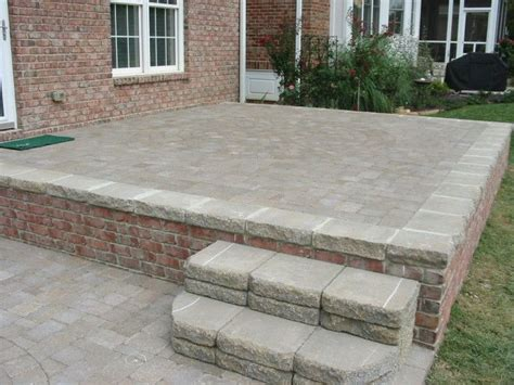 Thin Patio Pavers 17 Best Ideas About Pavers Concrete On Garden Pit Pits And
