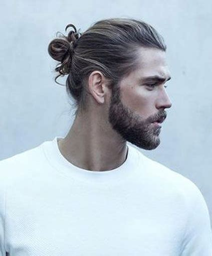 man bun with sides shaved man bun hairstyles for spring 2018