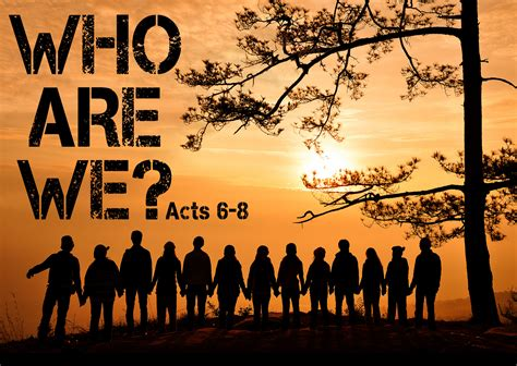 Who Are The Who Are We Vision Sunday The Well Church Loughborough