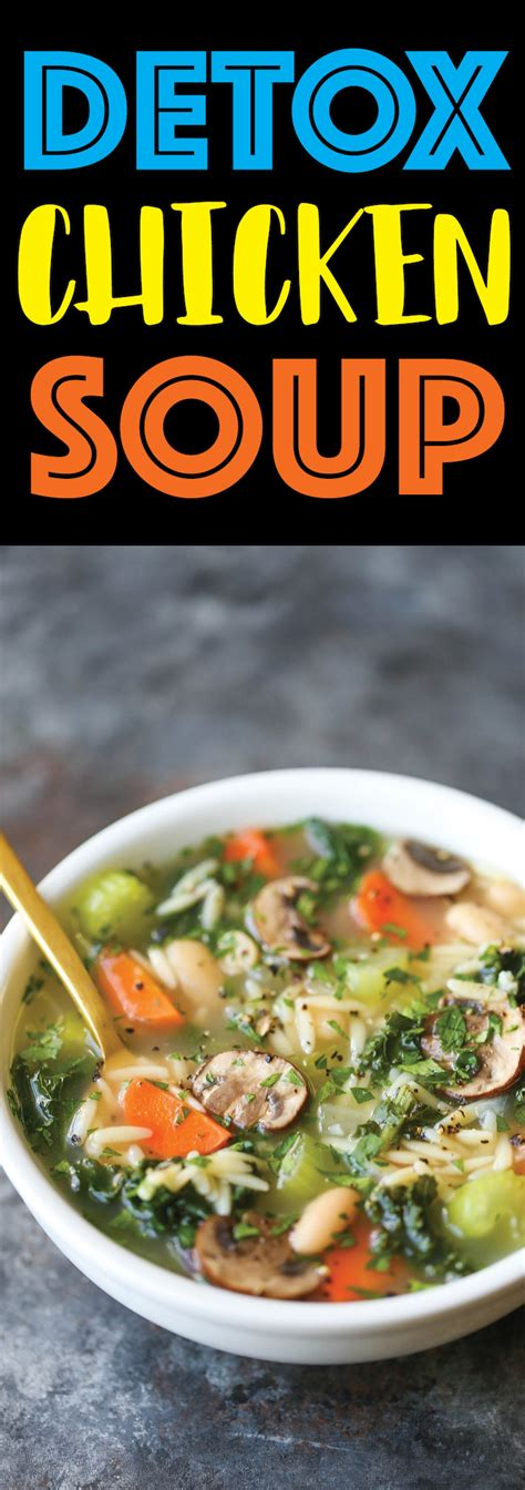 Healthy Detox Soup Recipes by Chicken Detox Soup Winkalink